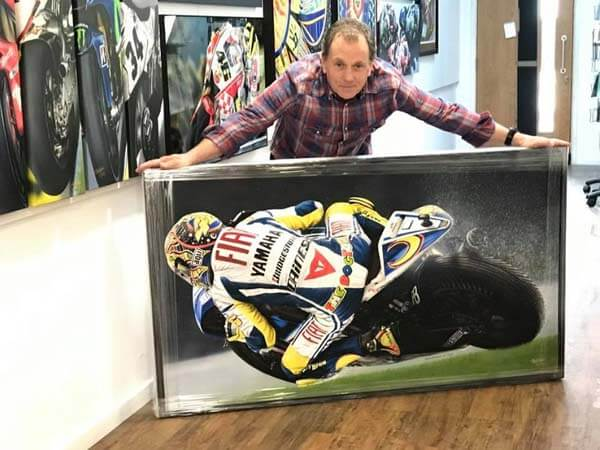 Completely motorbikes showroom