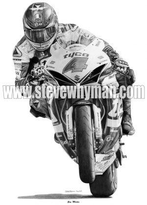 Guy Martin Tyco Suzuki