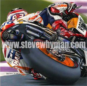 Marc Marquez Exhaust N Rubber