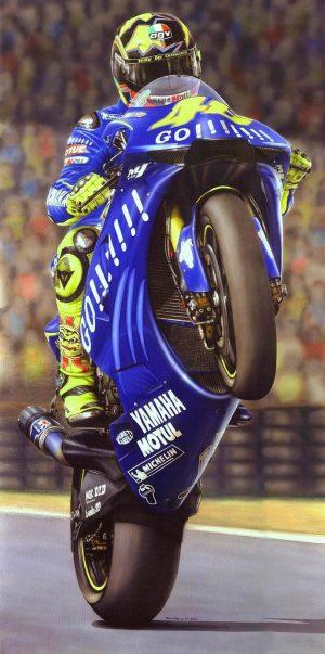 Valentino Rossi 2004 legon