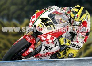 Valentino Rossi Abarth 80 x 60