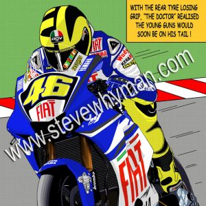 Valentino Rossi Pop Art