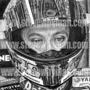 Valentino Rossi Portrait 2017