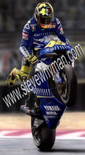 Valentino Rossi GoGo 2005 legoff