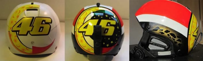 Ski helmet design