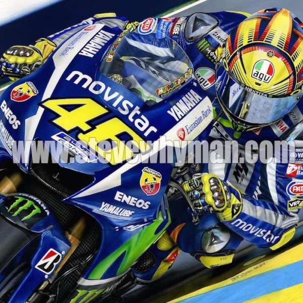 Valentino Rossi 2016 The Doctor Square