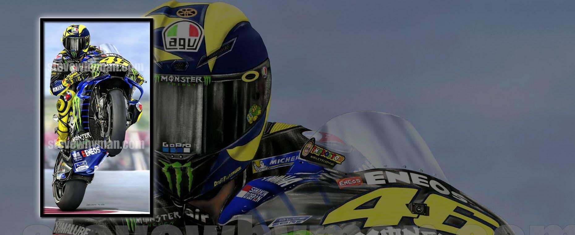 Moto GP paintings
