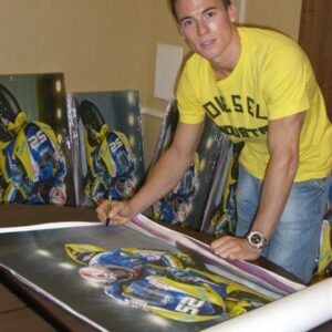 James Toseland signing 2004