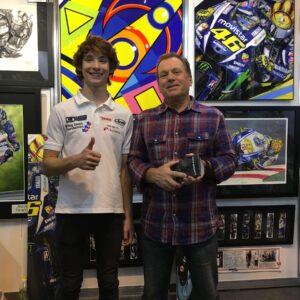 Steve with Rory Skinner