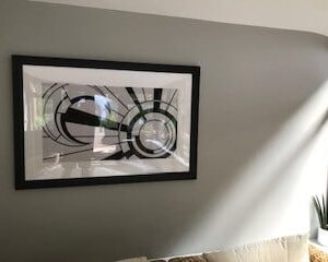 Different take on the Art Deco piece by Chris - Northants